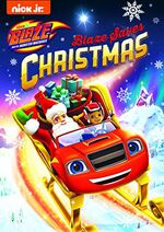 Blaze and the Monster Machines Blaze Saves Christmas DVD