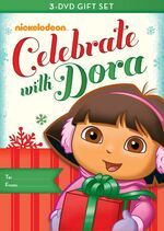 Dora the Explorer Dora Celebrates Three-Pack DVD