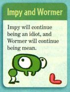 Impy and Wormer characters future Nick Mag Dec 2009