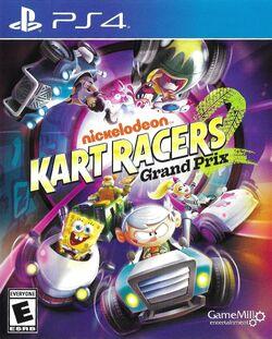 Nickelodeon Kart Racers 2 PS4 cover