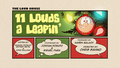 11 Louds a Leapin' Title Card