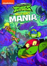 Rise of the TMNT Mutant Mania DVD