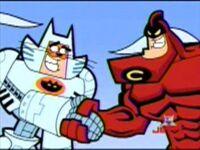 Crimson Chin with Catman