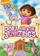 Dora the Explorer Dora and the Three Little Pigs DVD