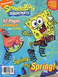 Nick Mag Presents Nickelodeon Comics magazine cover Spongebob June 2009