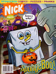 Nick Magazine cover Oct 2009 SpongeBoo