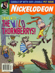 Nickelodeon Magazine cover March 1999 The Wild Thornberrys