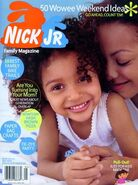 Nick Jr Family Magazine cover May 2004
