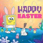 SpongeBob easter promo
