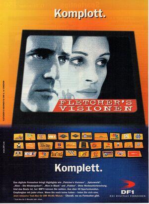 DF1 - Werbeanzeige