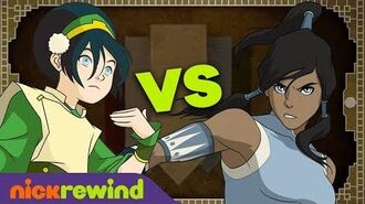 TOPH vs. KORRA Who Would Win? 👊 Avatar Bender Battles 2 NickRewind