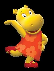 The Backyardigans Tasha Nickelodeon Nick Jr. Character Image
