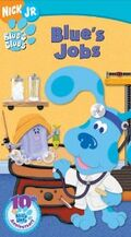 Blue's Clues Blue's Jobs VHS
