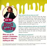 Ask the Boss Lady Geraldine Laybourne Nick Mag November 1995
