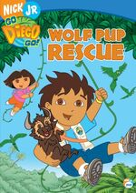 Go Diego Go! Wolf Pup Rescue DVD