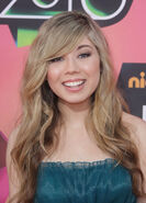 Jennette McCurdy at Nickelodeon KCA 2010