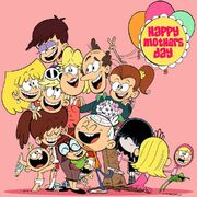 Loud House Mother's Day artwork