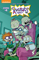 Rugrats Number 6 Comic Book Cover