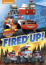 Blaze and the Monster Machines Fired Up! DVD