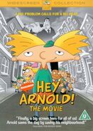 Hey Arnold! The Movie DVD UK-Europe 2003