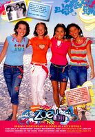 Zoey 101 fashion print ad Nick Mag March 2006