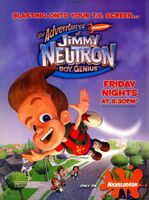 Adventures of Jimmy Neutron print ad Nick Mag Oct 2002