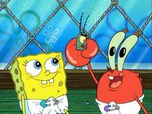 Baby Spongebob, Sheldon, & Baby Mr. Krabs