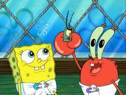 Baby Spongebob, Sheldon, & Baby Mr. Krabs
