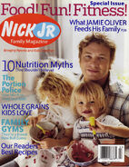 Nick Jr Family Magazine cover Feb Mar 2006 Jamie Oliver