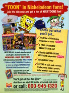 NIck Mag Club advertisement Nickelodeon Magazine October 2004 nicktoons