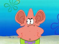 Patrick with ears
