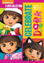 Dora the Explorer Celebrate With Dora 2014 Re-Release