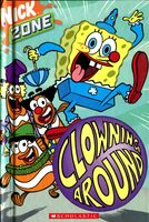 SpongeBob Clowning Around Book
