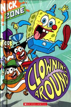 SpongeBob Clowning Around Book