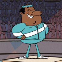 The Loud House Harold McBride Jogging Outfit