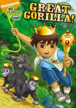 Go Diego Go! Great Gorilla! DVD