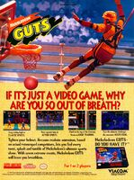 Nickelodeon GUTS Video Game Print Advertisement