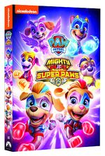 PAW Patrol Mighty Pups, Super Paws DVD