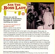 Ask the Boss Lady Geraldine Laybourne Nick Mag December 1995
