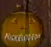 Halloween pumpkin screen bug
