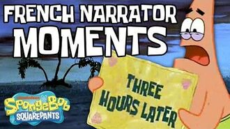 """Every Time the """"French Narrator"""" Appears Ever (Part 1 ?) SpongeBob"""