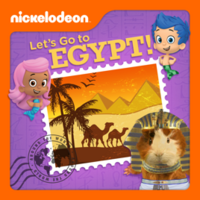 Nickelodeon - Let's Go To Egypt! 2013 iTunes Cover