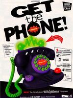 Nickelodeon Telephone Print Advertisement