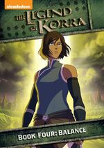 The Legend of Korra Book 4 DVD