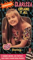 ClarissaExplainsItAll Dating VHS