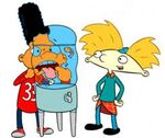 Hey Arnold Arnold and Gerald-WaterTank