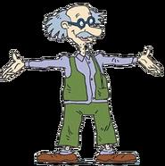 Grandpa Lou standing