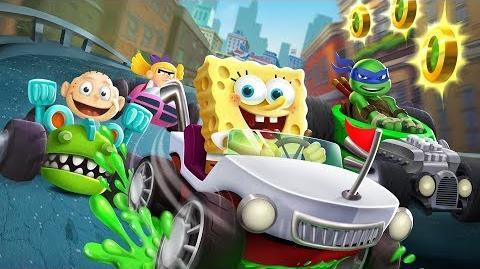 Nickelodeon Kart Racers Announce Trailer