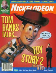 Nickelodeon Magazine cover Nov 1999 Tom Hanks Toy Story 2