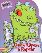 Rugrats Once Upon a Reptar Book